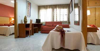 Hotel Los Girasoles II - Apt. 2 Dormitorios